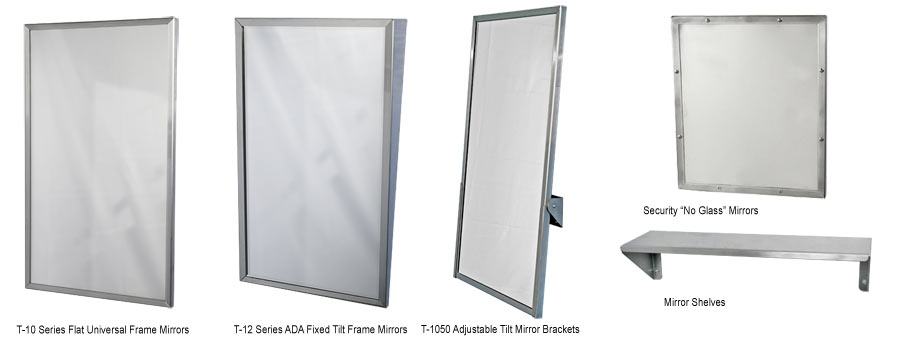 Commercial Restroom Mirrors